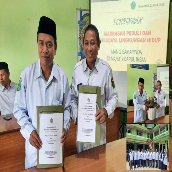 MAN 2 Samarinda Melakukan Kunjungan ke Madrasah MA Darul Ihsan