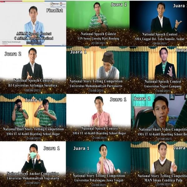 Habibi : Siswa MAN 2  Yang Meraih 12  Gelar Juara Pada Bulan Agustus Ini