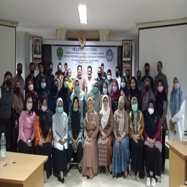 Guru Bahasa Indonesia MAN 2 Samarinda Hadiri Rapat Koordinasi MGMP