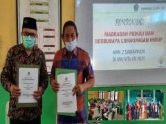 Menuju Adiwiyata Tingkat Mandiri MAN 2 Samarinda Gandeng MA/MTs An Nur Samarinda