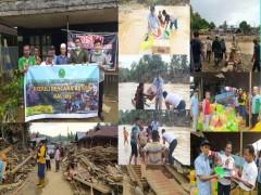 MAN 2 Samarinda menyalurkan bantuan bencana banjir ke Kalimantan Selatan