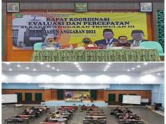 Kepala Madrasah MAN 2 Samarinda  Ikuti Rakor Evaluasi dan  Penyerapan