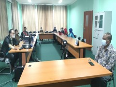 Persiapan Vaksin Bagi Siswa, MAN 2 Samarinda Adakan Rapat Koordinasi
