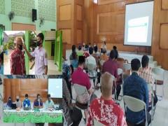 Rapat Dinas MAN 2 Samarinda, dipimpin Bapak Kepala Madrasah Drs. H. Saharuddin,M.Pd.