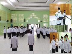 MAN 2 Samarinda melaksanakan Upacara Peringatan Hari Amal Bakti (HAB) Kementerian Agama ke 75